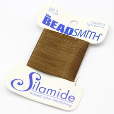 Nici Silamide LIGHT BROWN 0,30mm/36m [blister]