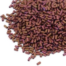 Toho Bugle #1 Matte-Color Mauve Mocha 3mm [5g]