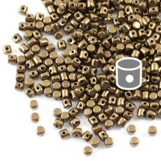 Minos par Puca 2,5x3mm Dark Gold Bronze [40szt]