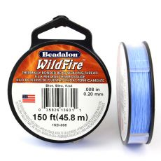 Beadalon Wildfire nić żyłkowa Blue 0,20mm / 46m