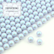 5810 Swarovski Crystal Iridescent Dreamy Blue Pearl 6mm [6szt]