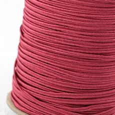 Sznurek sutasz USA rayon 2,5mm rose [1metr]