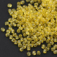 Fire Polish 3mm Crystal Solger Daffodil [40szt]