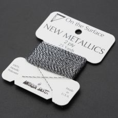 Nici metalizowane ANTIQUE SILVER 0,35mm/23m [blister]
