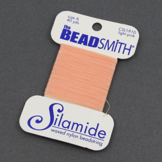 Nici Silamide LIGHT PINK 0,30mm/36m [blister]