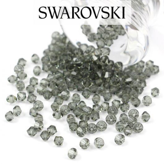 5328 Swarovski Xilion Bead 3mm Black Diamond [10szt]