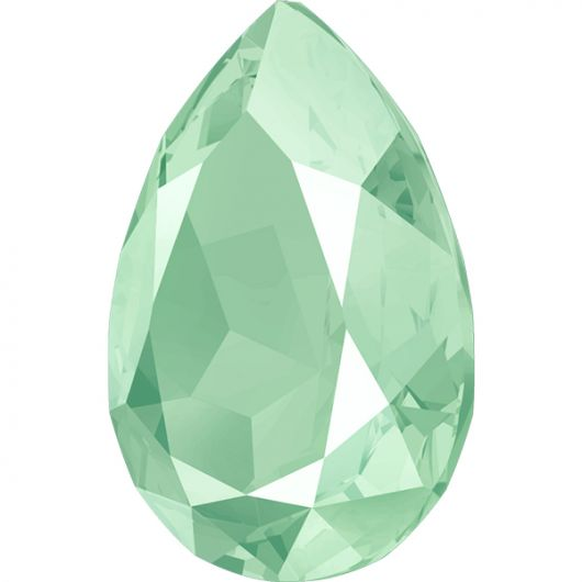 4320 Swarovski Pear Fancy Stone 14X10mm Mint Green