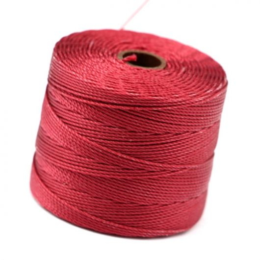 Nici nylonowe S-Lon Fine Tex 135 DARK RED 0,4mm/108m [szpula]