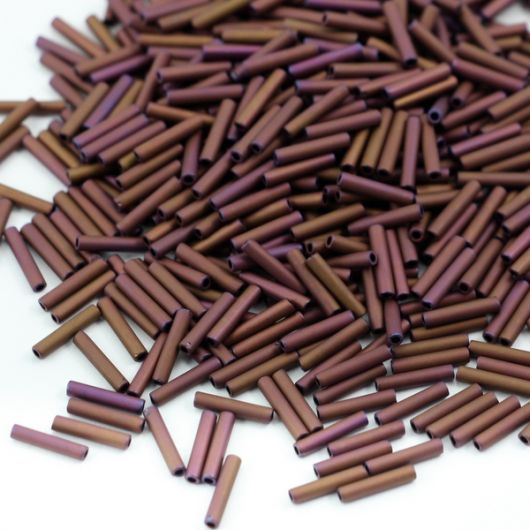 Toho Bugle #3 Matte-Color Mauve Mocha 9 mm [5g]