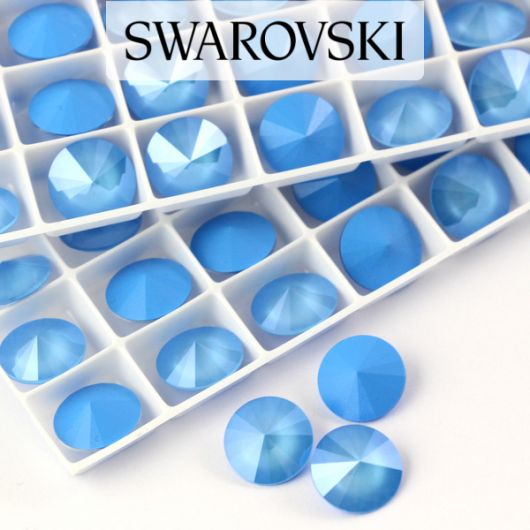 1122 Swarovski Rivoli 12mm Summer Blue [2szt]