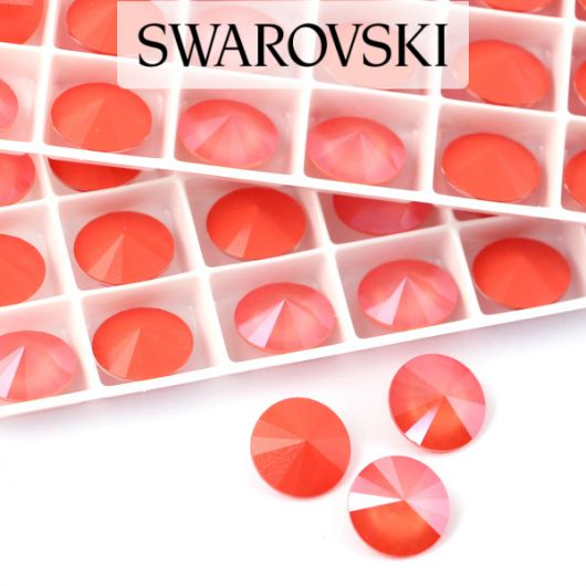 1122 Swarovski Rivoli 12mm Light Coral
