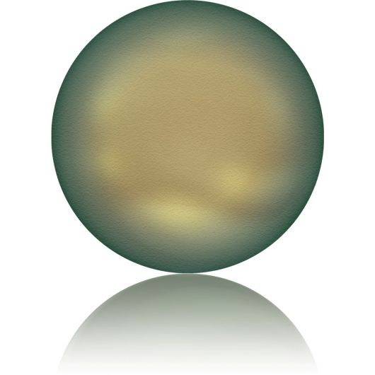 5860 Crystal Iridescent Green Coin Pearl 10mm [2szt]